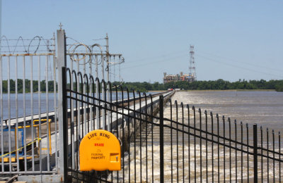 Mississippi  River has reached its Crest here according to USACE