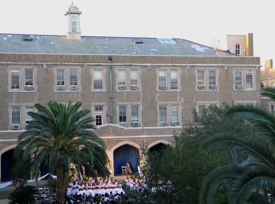 Ursuline Academy Building and Courtyard