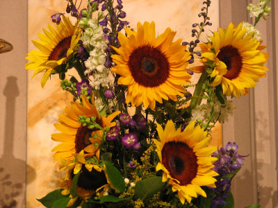 Altar Bouquet With a French Touch