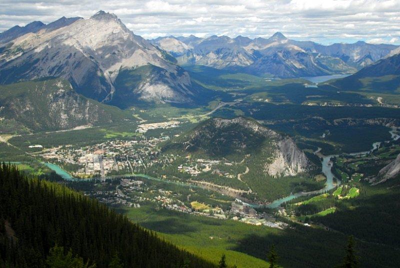 A Gondola Ride Above Banff