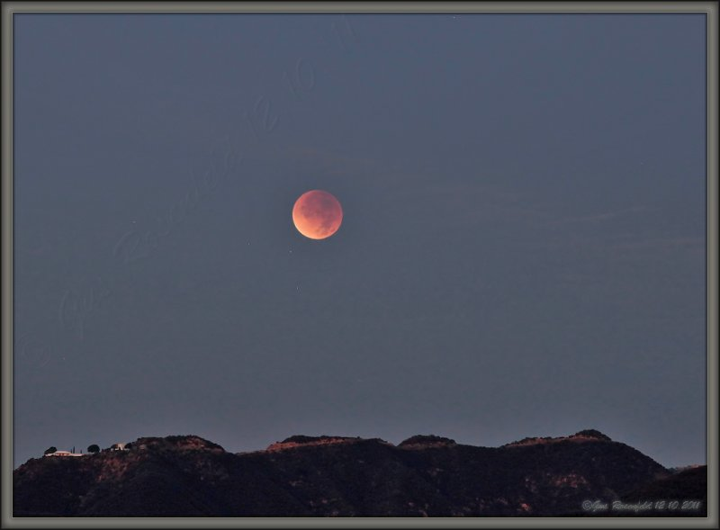 Until April 15<sup>th</sup> 2014<br>Lunar Eclipse December 10<sup>th</sup> 2011<br>Will Have To Do