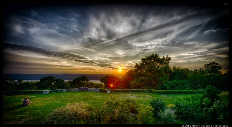 Wave Hill Sunset
