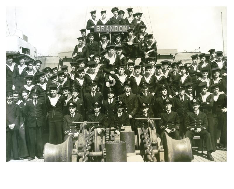 WWII Corvette Crew              HMCS Brandon   K 149