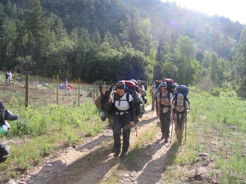 Slow trekking with Sanchez