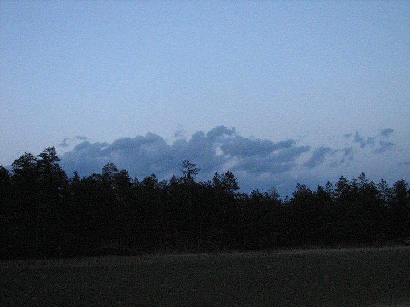 Night sky at Upper Bench