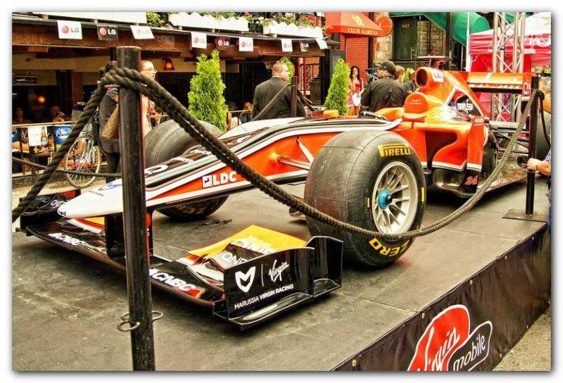 Marussia Virgin Racing Car  1