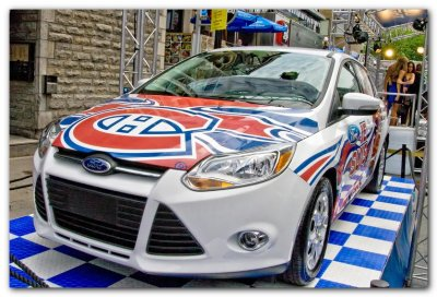 Montreal Canadiens Ford Focus