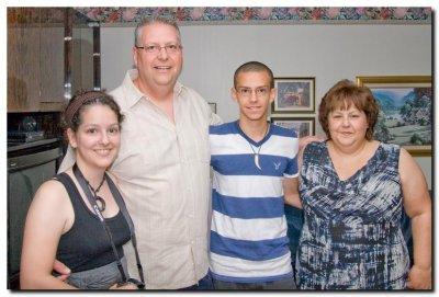 Melanie, Gilles, Steve and Josée