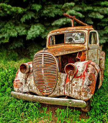 Retired 38 Ford