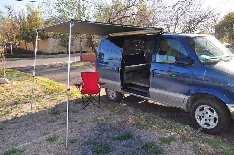 Gotta have some shade in West Texas