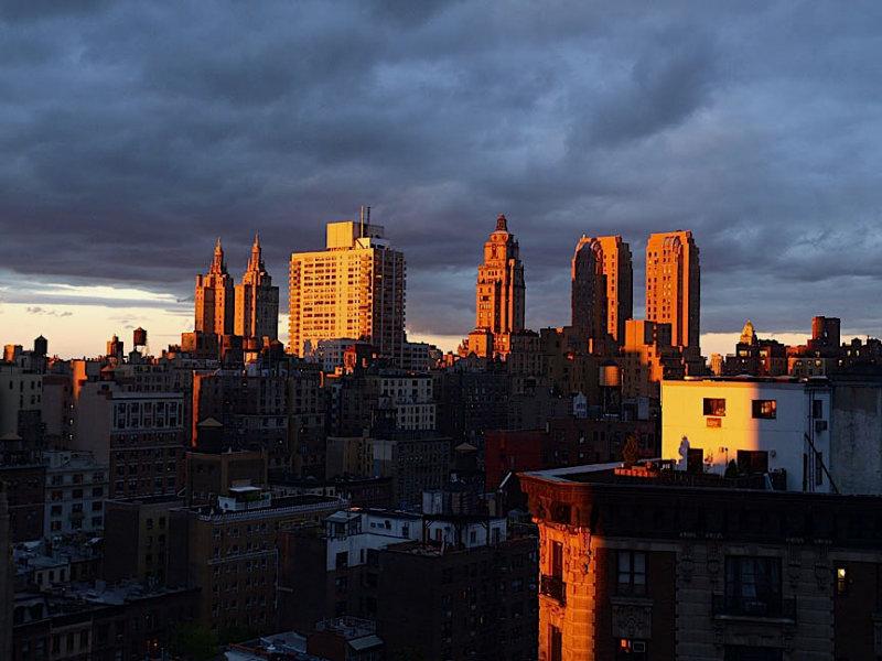 Dusk on the Upper West Side