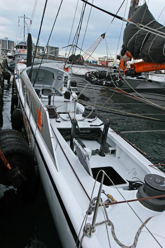 Le maxi catamaran Orange