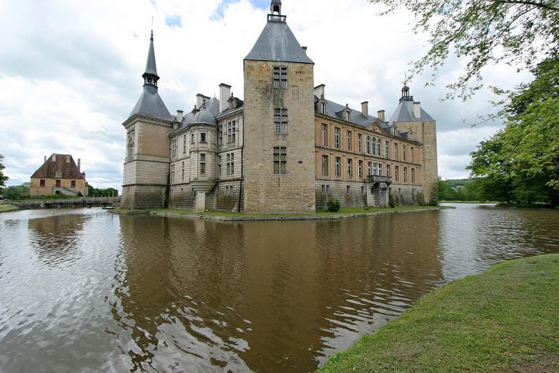 Visite du chateau de Sully, en Bourgogne