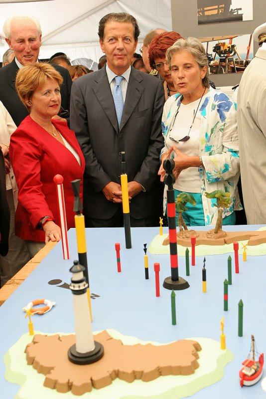 Douarnenez 2006 - Journée du jeudi 27 juillet - Cérémonie dinauguration