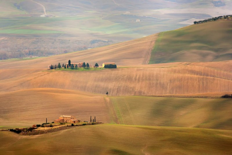 A view from Pienza