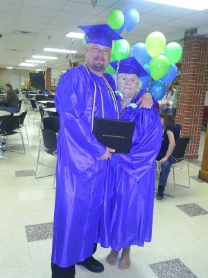 Linda graduates