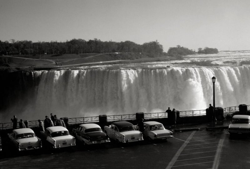 Niagara Falls c 1959, Niagara Falls, Ontario, Canada