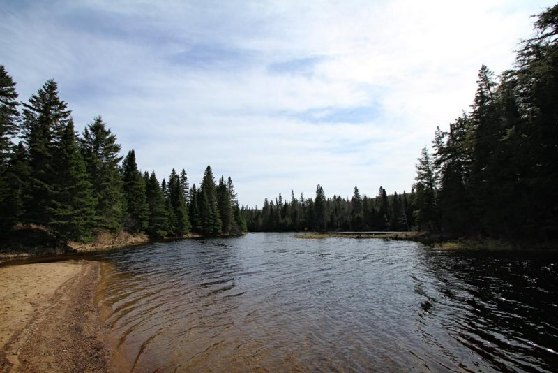 East Beach, Lake of Two Rivers, Algonquin Park, Ontario