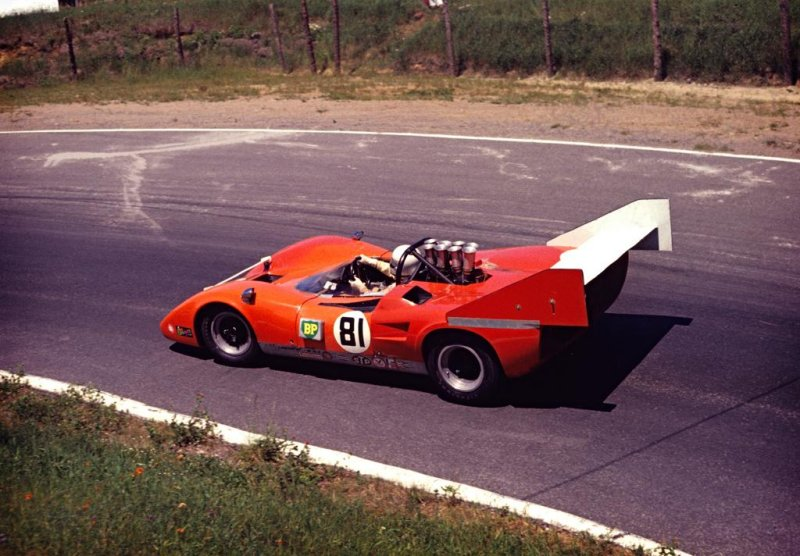 1971 Can-Am - Lola T163 - Dick Durant - Le Circuit, St. Jovite, Quebec