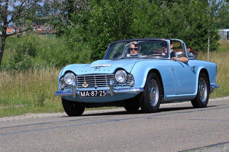 Triumph cabrio 2 TR4 1962