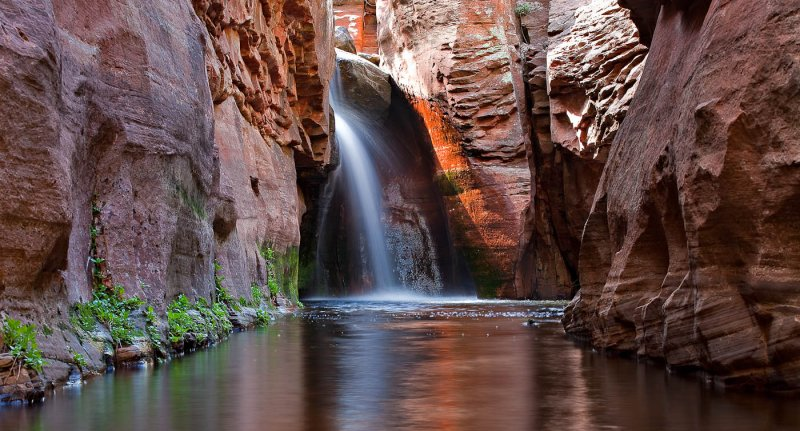 Waterfall, Secret Canyon, Sedona