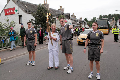 Olympic torch Relay 11th June 2012