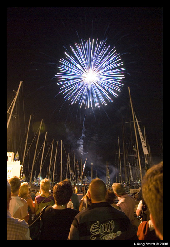 Firework in the rigging #10