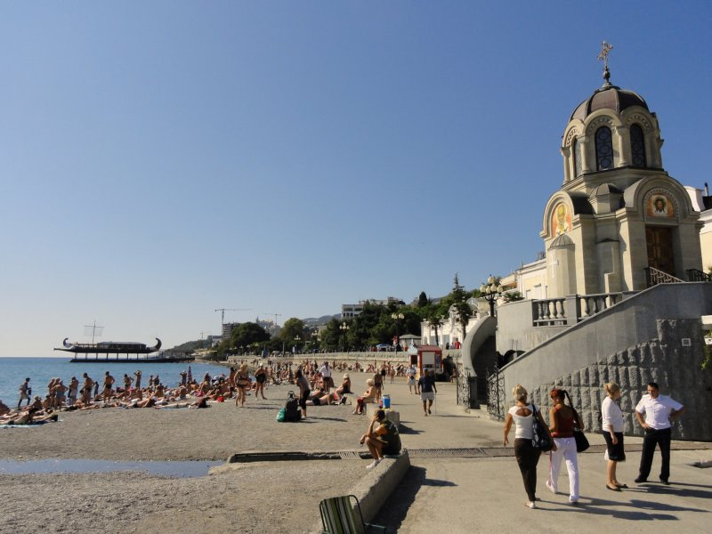 Jalta, St. Nicholas Church