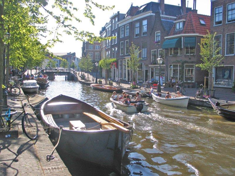 Oude Rijn Gracht in Leiden