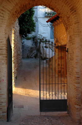 Entrance to the castle - La Iruela