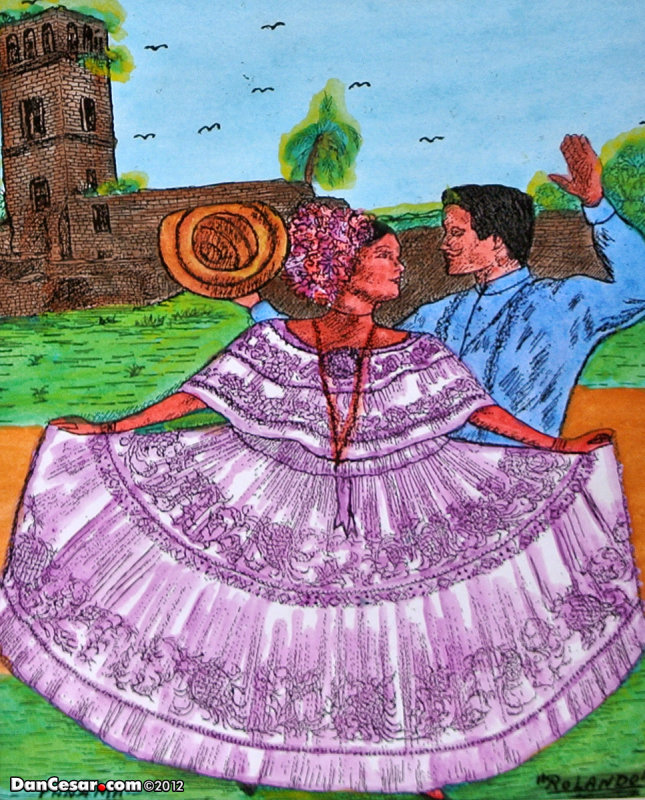 Folkloric painting
