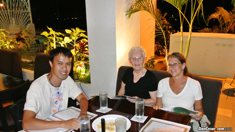 Dinner at a Cuban Restaurant