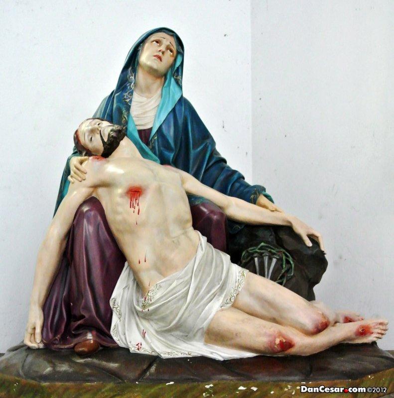 Pieta at the Catedral Metropolitana Panamá