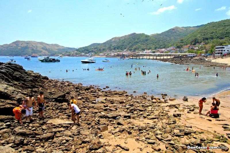 Playa Restinga on Isla Taboga