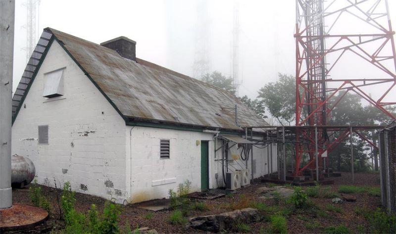 Transmitter Building - Front