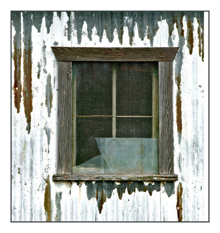 Shed window, Norwich Kansas