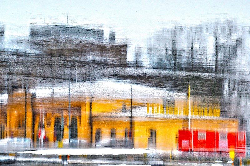 Yellow building II