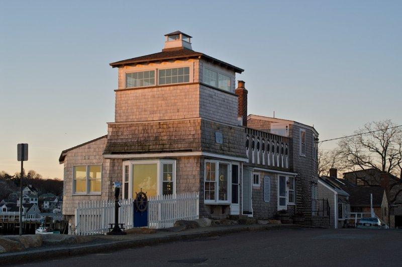 Harbor watchtower