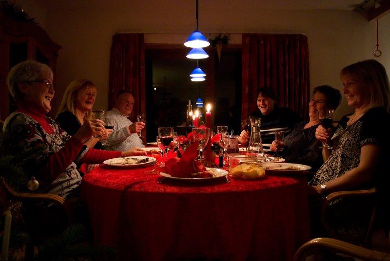 Christmas Evening Dinner