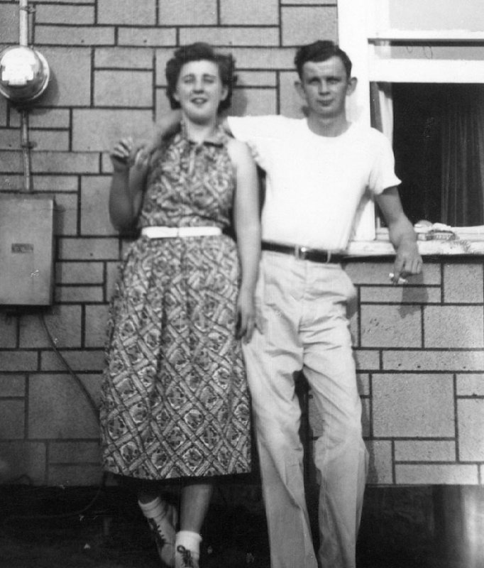Mary Ann Taylor (Southall) & Roy Southall 1955