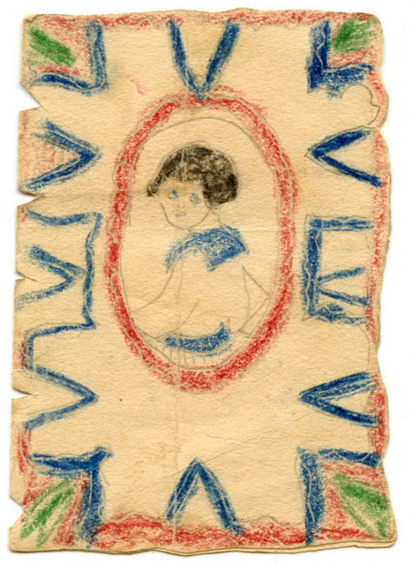 To Violet from Esther Helmick (early1920s)