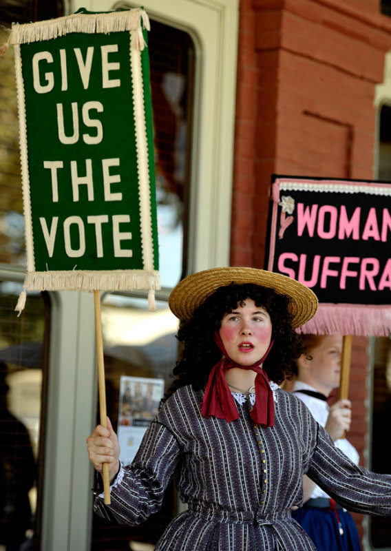 Womens Suffrage Rally