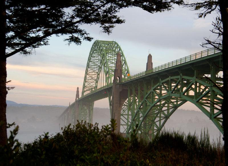 Yaquina Bay Bridge / Newport, Oregon