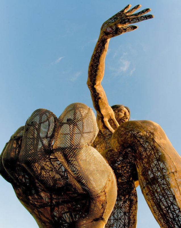 Bliss Dance (Marco Cochrane Sculpture)