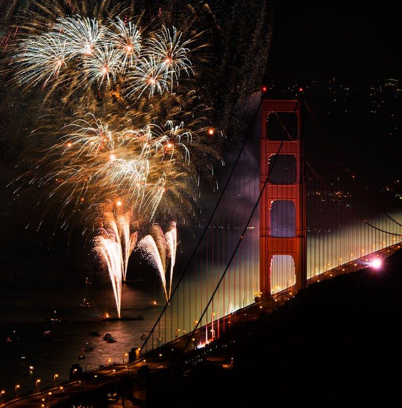 Golden Gate Bridge 75th Anniversary Celebration