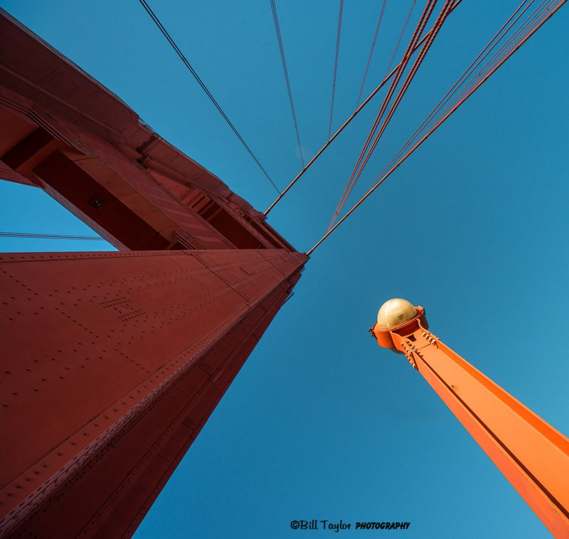 Looking up at the Golden Gate :-)