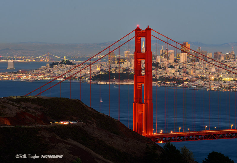 San Francisco and the Golden Gate !