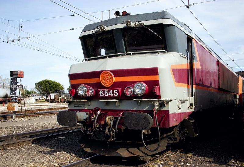 The CC6545 at Avignon depot.