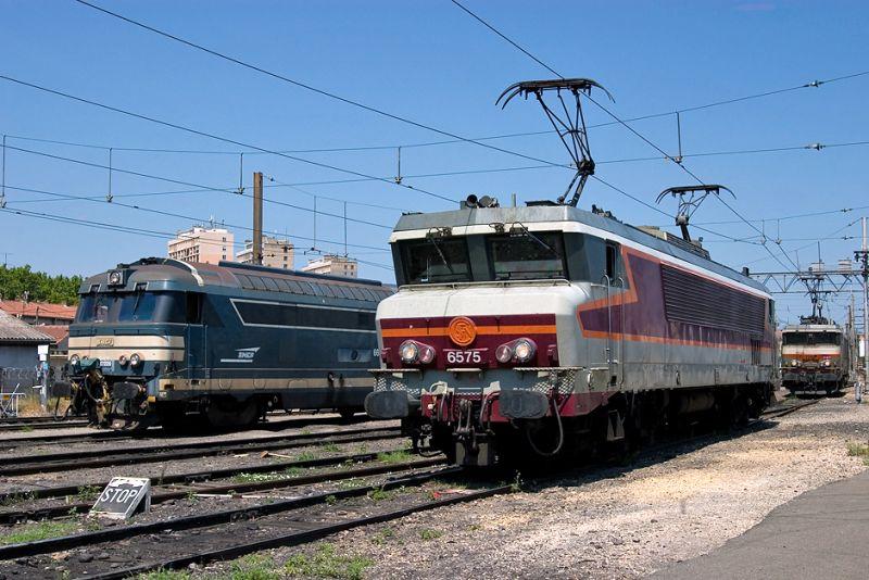 The CC6575 at Avignon depot.