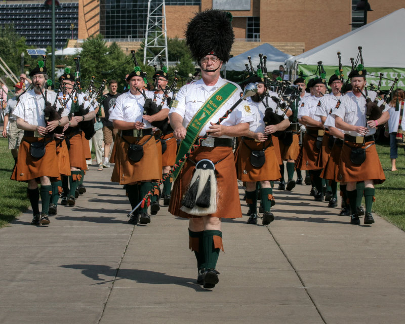 The Brian Boru Irish Pipe Band